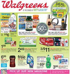 Walgreens Ad Sneak Peek For 4/21/2013-4/27/2013 Sneak A Peek and plan ahead ;)