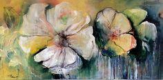 flowers, Acryl on canvas, Michael Frahm
