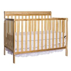 #Dream On Me Alissa Convertible 4-In-1 Crib 654, is a stylish, lifestyle crib that develops alongside your child from birth through adulthood. Standard is the st...