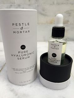 Pure Hyaluronic Serum is Skin Saviour for Beauty & Bliss! Cosmetic Labels, Cosmetic Packaging, Hyaluronic Serum, Cosmetic Design, Packaging Design, Packaging Ideas, Anti Aging Serum, Perfect Christmas Gifts, Mortar And Pestle