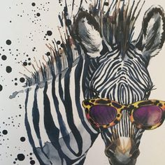 Cool Zebra Art Zebra Soul Art | / Art Therapy and Self Healing