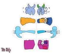 Recursos para Ministério Infantil: Visual da historia da caixa de ferramentas