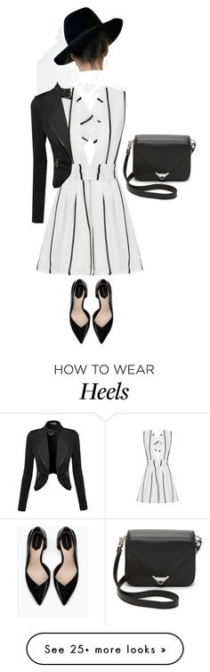 """""""Untitled #163"""" by jovana-p-com on Polyvore featuring moda, Alexander Wang, Zara, women's clothing, women, female, woman, misses y juniors"""