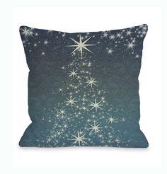 Star Shower Throw Pillow