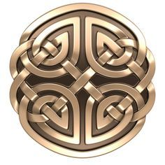 A Celtic shield signifies bravery and strength.  I like the aspect of a warrior in this symbol.