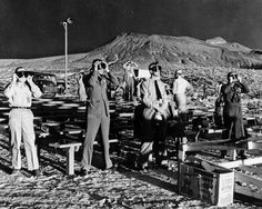 Nevada Test Site - 1955 Photograph