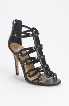 Ivanka Trump 'Mallorie' Sandal | Nordstrom  Too high heel for me, but there is something about them...