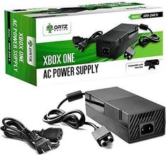 Ortz AC Adapter Power Supply Cord for Xbox One [NEW VERSION] Best for Charging - Brick Style - Great Charger Accessory Kit with Cable