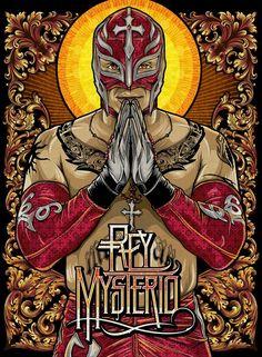 Official Palehorse Portfolio - Pale Horse x WWE Magazine Wrestling Posters, Wrestling Wwe, Lucha Underground, Rey Mysterio 619, Wwe Lucha, Eddie Guerrero, Pale Horse, Wwe Roman Reigns, Wrestling Superstars