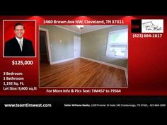 3 bedroom Home for Sale in College Park Subdivision Cleveland TN - YouTube