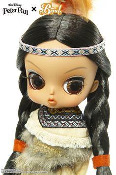 Byul Tiger Lily - Peter Pan - Disney - Ichigo-Toys
