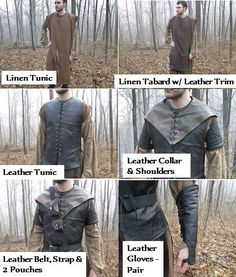 Costumes de ranger Lord of the Rings inspirés par FolkOfTheWood