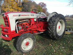 Ford 861 Tractor 800 series Powermaster 5 speed