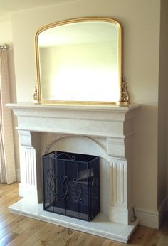 Pin By Panfili Mirrors Interiors On Archtop Overmantle