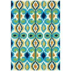 I pinned this Enzo Indoor/Outdoor Rug from the Painted House event at Joss and Main!