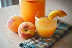 Macaroni and Cheesecake: Peach Lemonade