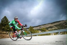 #teamdassi athlete Lawrence Fanous on his custom painted Dassi Road - ITU Triathlete