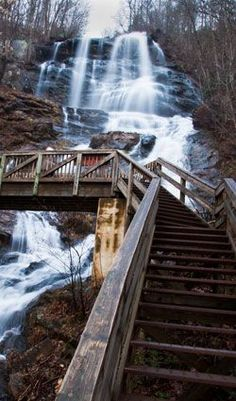 If you need to get out of the city for a day, a hike up at Amicalola Falls State Park is a perfect way to escape. It's great for both beginners and outdoor-lovers!