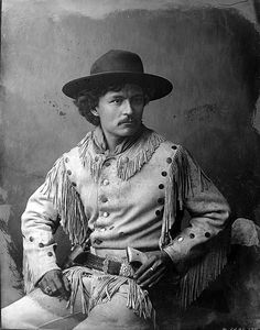 The iconic Ben Wittick portrait of Chee Dodge Young Scout