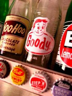 YooHoo! Great vintage soda bottles, would love a few of these...