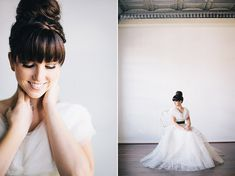 high bun bridal hairstyle / photography: http://ciara-richardson.com/ hair & makeup: http://hairandmakeupbysteph.com/