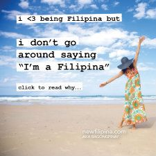 An old blogpost about being Filipina and a human being #pinay #filipina #member #faves