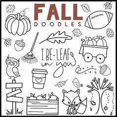 KA Fonts - Fall / Autumn Doodles by Kaitlynn Albani Bullet Journal Aesthetic, Bullet Journal Writing, Bullet Journal Ideas Pages, Bullet Journal Inspiration, Doodle Fonts, Doodle Pages, Doodle Lettering, Halloween Doodle, Halloween Drawings