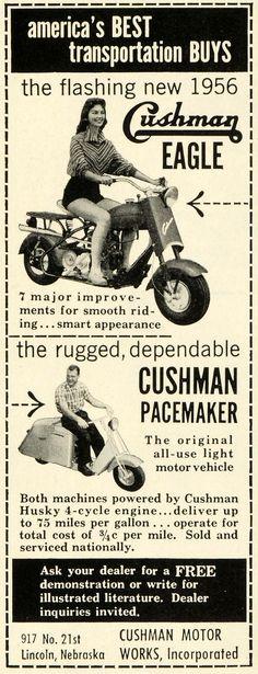 Cushman Eagle & Pacemaker (1956)