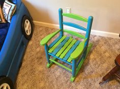 Hudson's new chair!