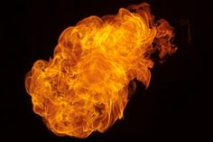 Free high res fire ball stock photo.