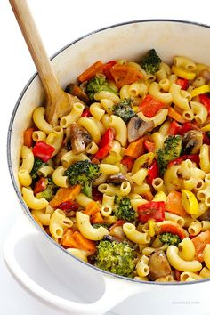 Roasted Vegetable Pasta on Pinterest | Roasted Vegetables, Vegetable ...