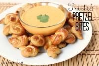Six Sisters Twisted Pretzel Bites Recipe are so easy to make and kid approved! Our family loves this!