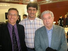 Fabio Civitelli, José Carlos Francisco e Sergio Bonelli na Cartoomics de Milão, 2010