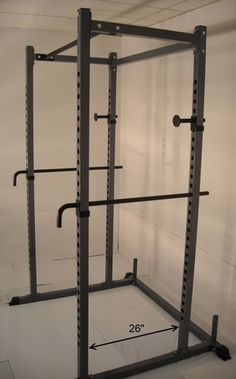 5. Power Rack NEW Squat Deadlift HD Lift Cage Bench Racks Chrome Safety