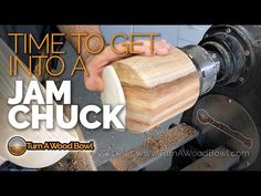 In A Jam, Chuck Reverse Woodturning Essential Tool – How-To-Make Wood Turning Lathe, Wood Turning Projects, Wood Lathe, Jacobs Chuck, Bowl Turning, Metal Yard Art, Lathe Projects, Made Video, Wood Bowls