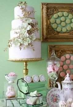 how cut a wedding cake best 25 mint green cakes ideas on mint 15362