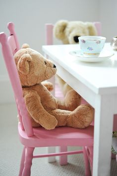 Teddy Bears at Tea