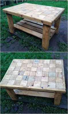 Woodworking For Beginners Knives recycled wooden pallet table.Woodworking For Beginners Knives recycled wooden pallet table Wooden Pallet Table, Pallet Chair, Wooden Pallet Projects, Wooden Pallet Furniture, Pallet Crafts, Woodworking Furniture, Wooden Pallets, Couch Furniture, Pallet Ideas
