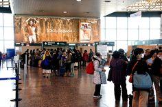 Aeroporti - Dolce e Gabbana - Milano Malpensa #IGPDecaux #DolceeGabbana #Milano #Malpensa