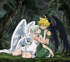 Sora Amamiya – Regeneration Nanatsu no Taizai: Kamigami no Gekirin ED Seven Deadly Sins Anime, Elizabeth Seven Deadly Sins, 7 Deadly Sins, Meliodas And Elizabeth, Elizabeth Liones, Anime Angel, Animé Fan Art, Seven Deady Sins, 7 Sins