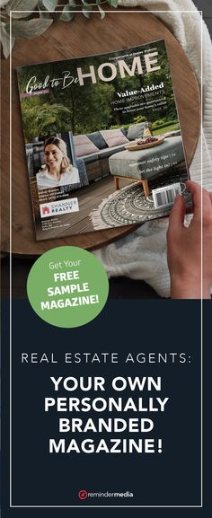 Connect with your past clients and prospects on a regular basis by sending them a free bimonthly subscription to your very own personally branded magazine! real estate marketing - realtor marketing - real estate agent ideas - grow my business - get more referrals - real estate referrals #realtor #realestateagent #realestate Summer Safety Tips, Brand Magazine, Relationship Marketing, Free Magazines, Realtor Gifts, House And Home Magazine, Marketing Ideas, Real Estate Marketing, Connect