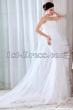 Amazing Sheath 2014 Wedding Gowns:1st-dress.com