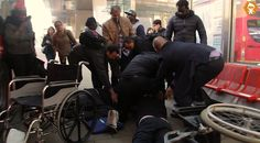 Wheel Chair Altercation In Public