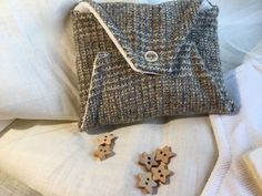 Items similar to Needle book made from Yorkshire wool tweed, with a press stud fastening and six felt pages for needles pins and safety pins. on Etsy Handmade Envelopes, Felt Projects, Wool Fabric, Christmas Presents, Yorkshire, Louis Vuitton Monogram, Tweed, Coin Purse, Quilting