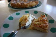 Äppelkaka med kokos Waffles, French Toast, Apple, Breakfast, Desserts, Food, Breakfast Cafe, Tailgate Desserts, Deserts