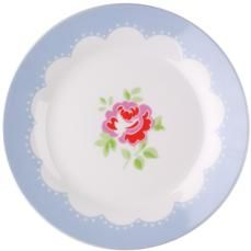 Cath Kidston - Provence Rose Set of 4 Dinner Plates