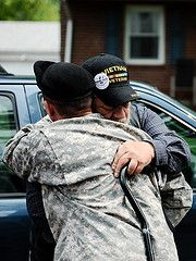 Because of the heart, will and firm resolve of those who received no welcome home (for over two decades) to never have such an abominable injustice ever happen again in this nation, generations of your brothers will be there to welcome you home upon your return.