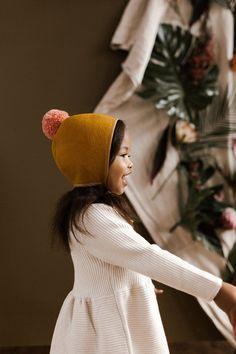 Hullabaloo Pom Bonnet by Briar Handmade – Briar Bonnets