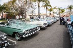 LA Times line up at impala caprice fest Impalas, Lineup, Scene, Times, Street, Photography, Roads, Photograph, Fotografie