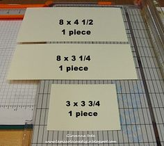 GREAT TUTORIALS ON CARD FOLDING